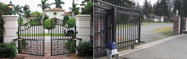 Install single vertical lift gates, automatic vertical gate operators in Houston, Beach City, Baytown, Texas